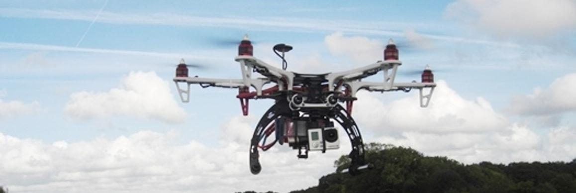Using drones to survey for Japanese knotweed