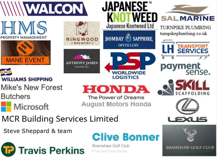 Sponsors for the Bramshaw Charity Day